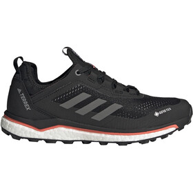 adidas TERREX Agravic Flow GTX Trail Running Shoes Women, core black/grey four/signal pink